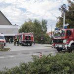 Hauptübung der Freiwilligen Feuerwehr Weilheim am Neuen Löwensaal