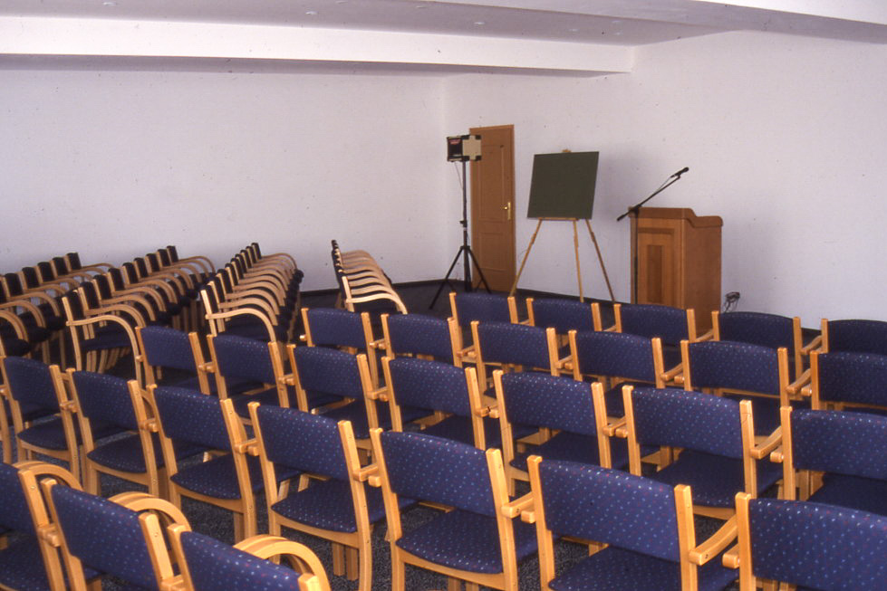 Air-conditioned lecture hall